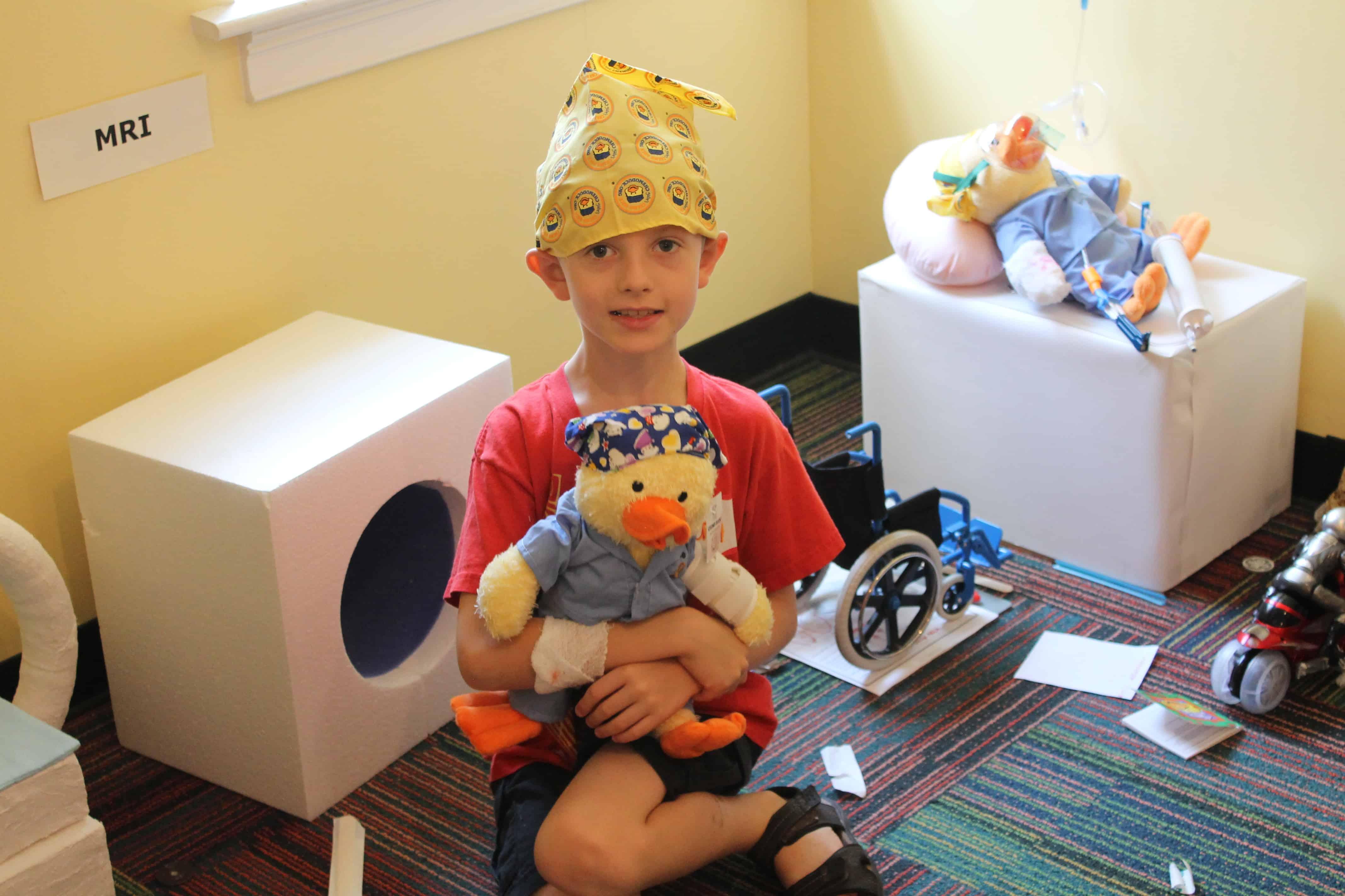 Gilda's Club Middle Tennessee cancer support Nashville kids Noogieland medical play