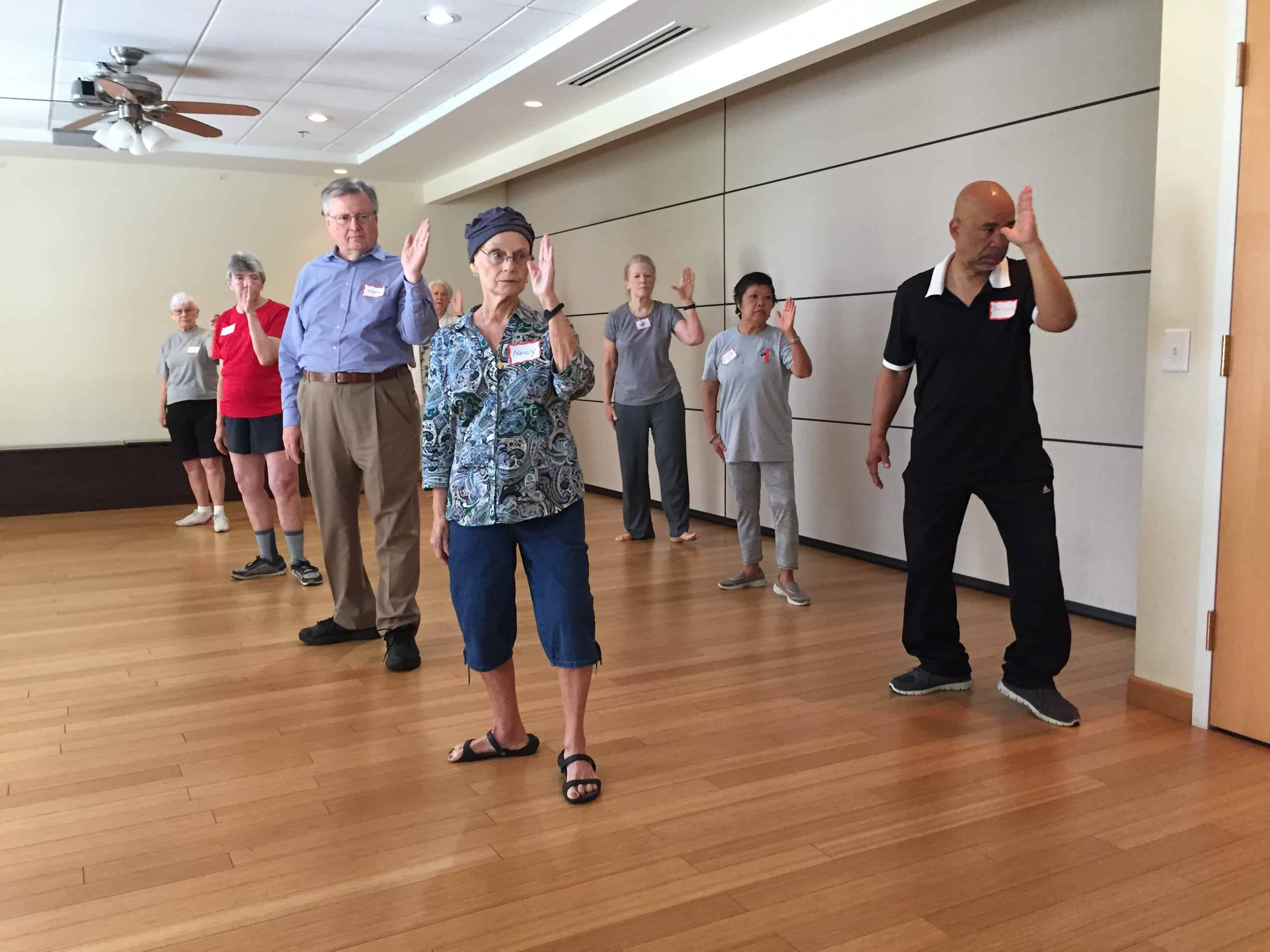 Gilda's Club Middle Tennessee Nashville free cancer support Tai Chi health and wellness